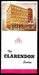 Click here to enlarge image and see more about item 4118: Clarendon Hotel, Quebec, 1950s