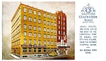 Click here to enlarge image and see more about item 4126: Clarendon Hotel, Quebec, Canada, 1950s