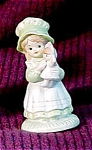 Click here to enlarge image and see more about item 4160: Big Hat, Little Girl, Enesco Figurine