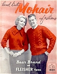 Click here to enlarge image and see more about item 4252: 1961 Hand Knit Mohair Fashions