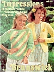 Click here to enlarge image and see more about item 4255: 1982 Heather Knit Sweaters