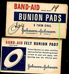 Click here to enlarge image and see more about item 4487: Band-Aid Bunion Pads