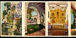 Click here to enlarge image and see more about item 4654: CALIFORNIA:  San Juan Capistrano Mission, Souvenir Folder