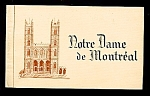 Click here to enlarge image and see more about item 4813: 1950s Postcards, Notre Dame de Montreal