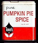 Tone�s Pumpkin Pie Spice Tin