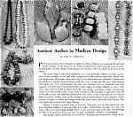 Click here to enlarge image and see more about item 4958: Amber Jewelry, Burmese, Scrimshaw, Wheel Toys