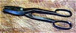 Click here to enlarge image and see more about item 4978: Vintage Straight Cut Tinsmith's Shears, 14-in. Forged Steel