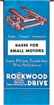 Click here to enlarge image and see more about item 5004: Rockwood Bases for Small Motors