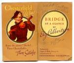 Click here to enlarge image and see more about item 5005: Chesterfield Cigarettes Bridge Guide, 1936