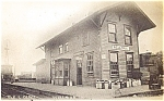 IOWA: 1910 Rock Island Depot, Wellman