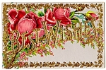 Click here to enlarge image and see more about item 5060: Gorgeous Best Wishes Roses!