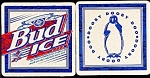 Click here to enlarge image and see more about item 5192: BUD ICE Dooby Doo Beer Coaster
