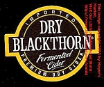 DRY BLACKTHORN Cider Coaster