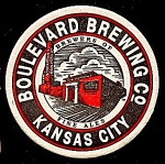 BOULEVARD Brewing Co. Coaster