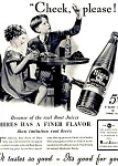 Click here to enlarge image and see more about item 5509: 1937 Hires Root Beer � CUTE!