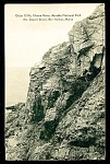Click here to enlarge image and see more about item 5553: MAINE: Cliffs, Ocean Drive at Arcadia National Park, Bar Harbor