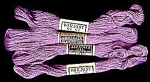 Click here to enlarge image and see more about item 5751: Vintage Embroidery Floss � Orchid