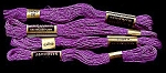 Click here to enlarge image and see more about item 5752: Vintage Embroidery Floss � Magenta