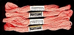 Vintage Embroidery Floss, JP Coats #120 Tomato Red