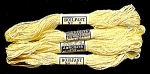 Vintage Embroidery Floss, JP Coats #9, Light Yellow
