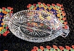 Click here to enlarge image and see more about item 5793: Stars & Bars Relish Dish