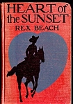Click here to enlarge image and see more about item 5914: Heart Of The Sunset, Great Cover Graphics!