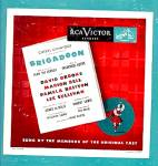 BRIGADOON: Original Broadway Cast LP Album