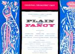 PLAIN AND FANCY: Original Broadway Cast LP Album