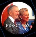 Perot �92 Campaign Button