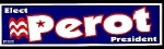 Click here to enlarge image and see more about item 6050: Elect Perot President Bumper Sticker