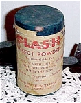 Click here to enlarge image and see more about item 6294: 1940s FLASH Insect Powder