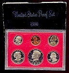 1980 U. S. Proof Coin Set