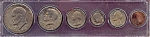 1974 6-Coin Set With Eisenhower Dollar
