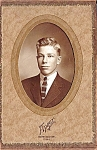 Click here to enlarge image and see more about item 6423: Early Photo: Young Man, Marshalltown
