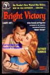 Bright Victory (Lights Out) by Baynard Kendrick; Bantam 1st Printing, 1951