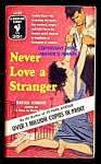 Click here to enlarge image and see more about item 6453: Never Love a Stranger! Vintage Bantam 1955