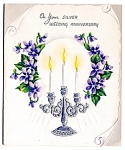 Click to view larger image of Silver Anniversary Card, WWII Era (Image1)
