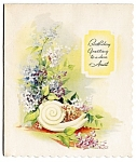 Click here to enlarge image and see more about item 9027: Birthday Greetings Dear Aunt