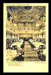 Click here to enlarge image and see more about item MU138: T.S.S.Rotterdam 1930s Dining Room Postcard