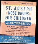 Click here to enlarge image and see more about item p1003: St. Joseph Nose Drops for Children