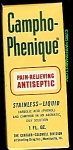 Click here to enlarge image and see more about item p1006: Campho-Phenique Liquid Antiseptic