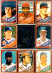 Click here to enlarge image and see more about item SM233: 1990 Wonder Bread Stars Baseball Cards, Lot of 8 Cards