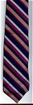 Click here to enlarge image and see more about item T115: Vintage Resilio Striped Men's Necktie