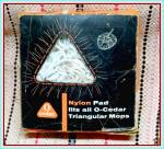 Click to view larger image of Original 1954 O-Cedar Triangle Mop Pad, MIP   (Image1)