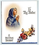 Click here to enlarge image and see more about item vgc27: Catholic - Spiritual Bouquet for Mother