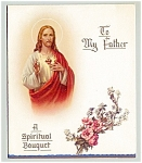 Click here to enlarge image and see more about item vgc28: Catholic - Spiritual Bouquet for Father