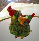 Vintage Japan Bird Shakers