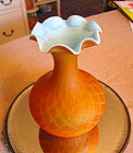Vintage Blown Art Glass Vase