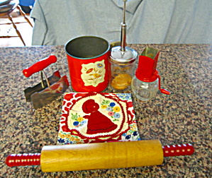 Kitchen Gadgets Red Collectibles