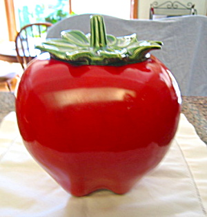 McCoy Red Apple Cookie Jar (Image1)